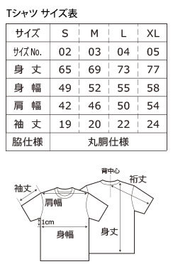 copaTサイズ表